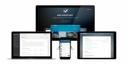 Archireport - suivi de chantier sur Web, iPad, et iPhone
