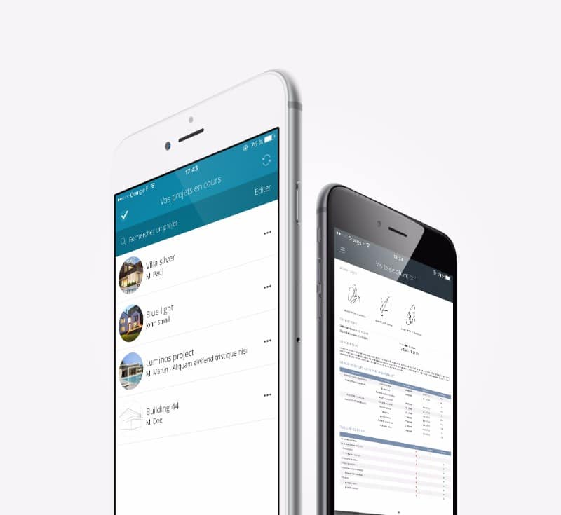 archireport iphone