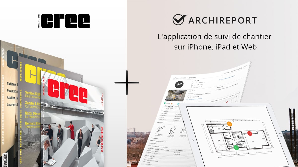 Offre Architectures CREE + Archireport