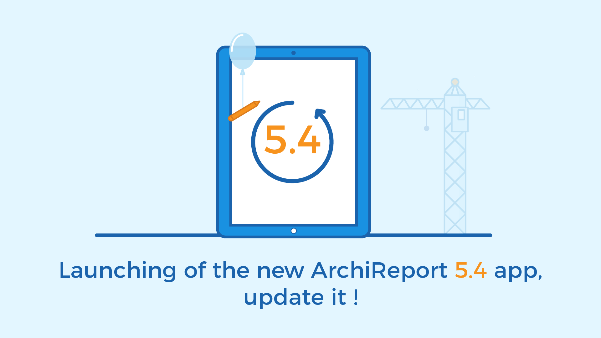 5.4 version archireport