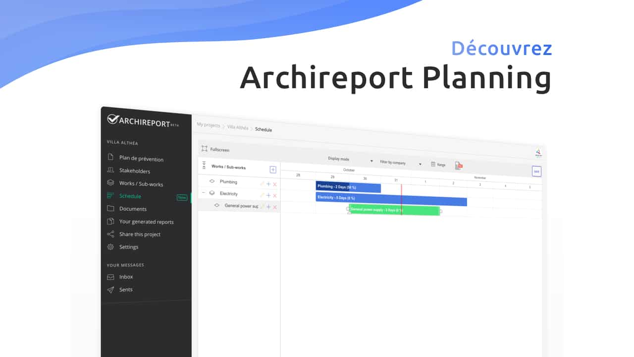 Archireport Planning