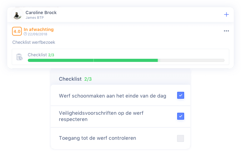 Checklist en takenlijsten