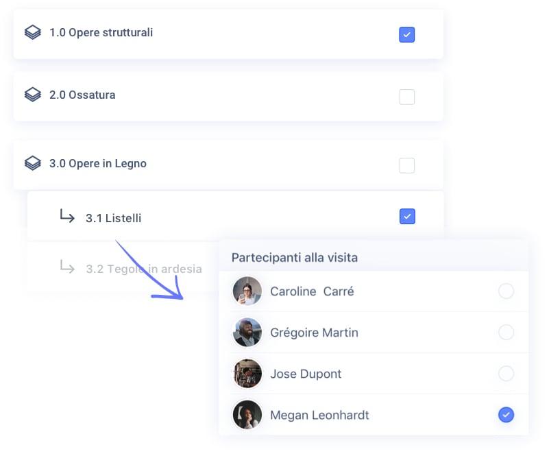 Configuri il contenuto del report in funzione del destinatario