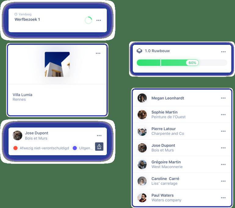 Organiseer en beheer alle projecten binnen één app