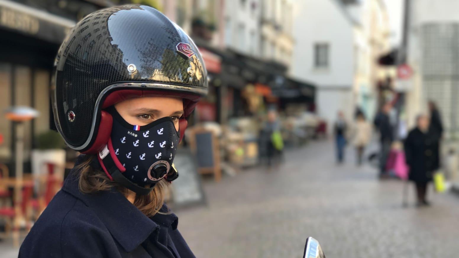 masque de protection laine de verre