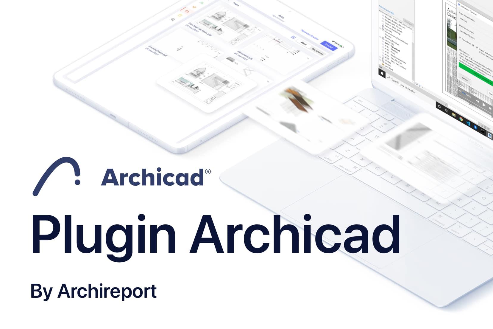 Plugin d'export Archicad